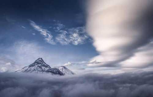 акварельные пейзажи: распушите облака и взволнуйте море